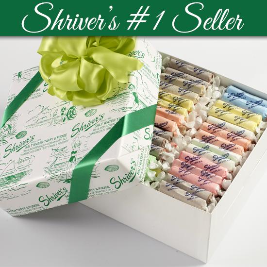 Salt Water Taffy 2 lb  Choose Your Own Flavors - Shriver's