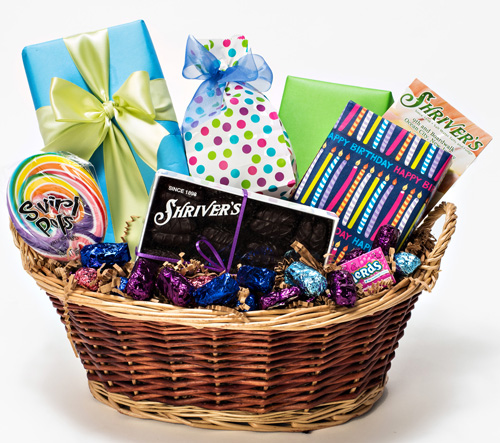 Seafoam Party Basket